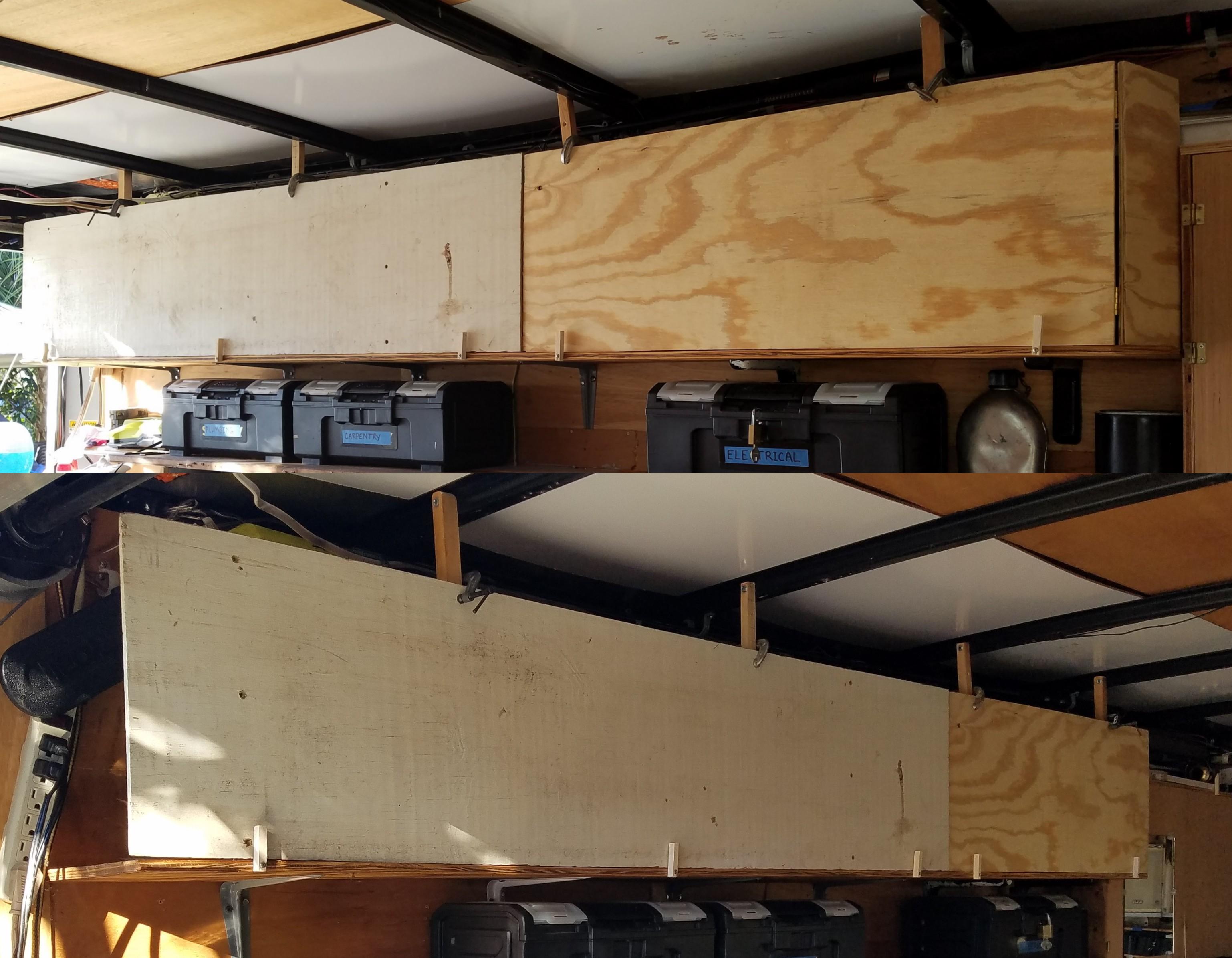 Trailer Top Shelf